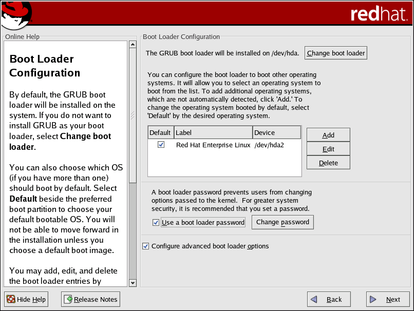 x86 and AMD64 Boot Loader Configuration